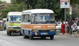 Tanzanian daladala matatu taxi