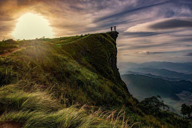 Sheu Morobi cliff