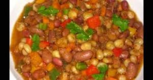 Githeri meal in Luo Nyanza