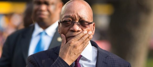 South Africa's Ex-President Jacob Zuma slapped with a 15 month prison sentence. (africadata.)