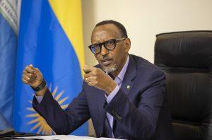 Rwandan President, Paul Kagame, (kt press)