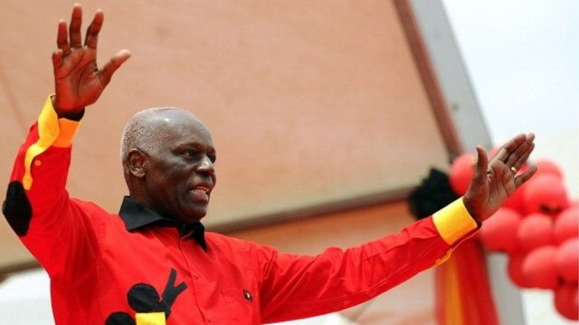 Angola's ex-president, dos Santos, jets back into the country for the first time since going on exile. (BBC)