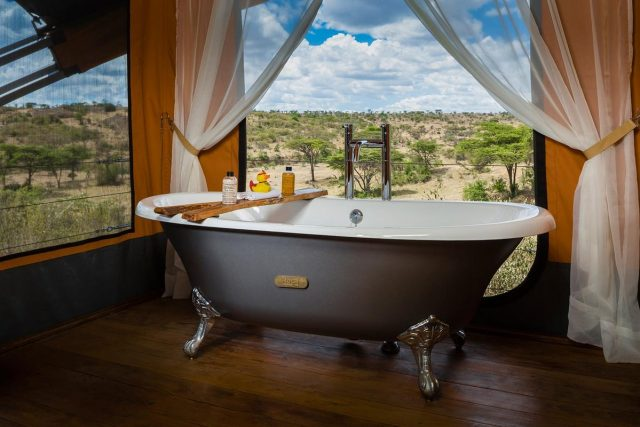 A peek inside the number one hotel in the world found in Kenya - Mahali Mzuri Luxury Safari Camp. (Evening Standard)